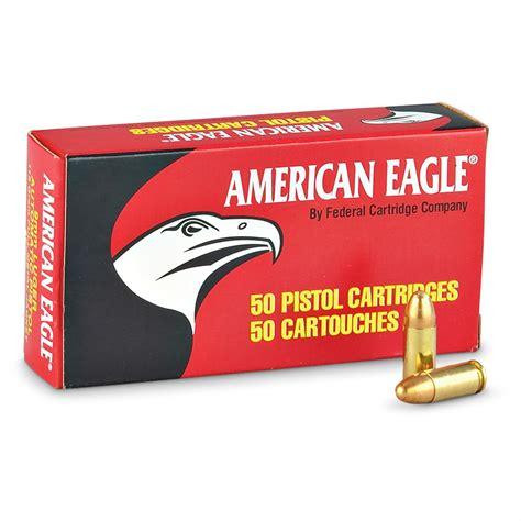 American Eagle 9mm Fmj 115 Grain Bulk Ammo For Sale