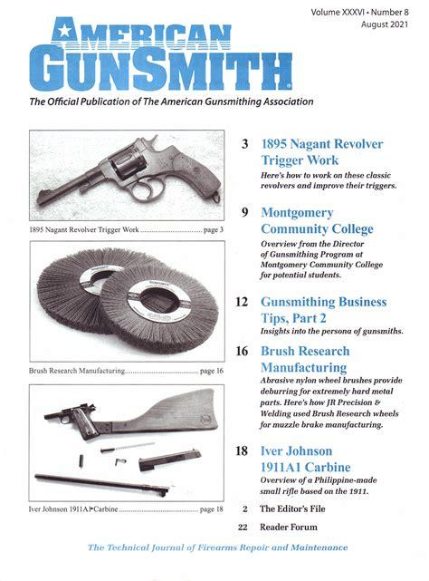 American Gunsmith Magazine Subscription