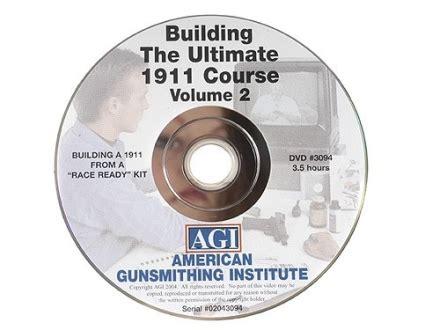 American Gunsmithing Institute Agi Video The Ultimate