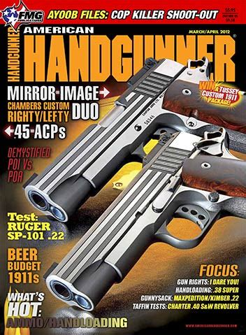 American Hand Gunner March April 2012 Trigger Firearms
