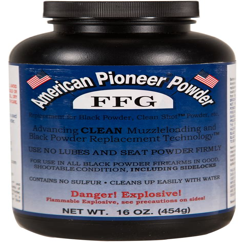 American Pioneer Inc Ffg Granulated Black Powder