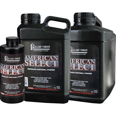 AMERICAN SELECT 8 ALLIANT POWDER Recob S Target Shop
