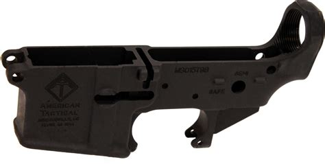 American Tactical Imports Milsport Ar 15 Stripped Lower Receiver