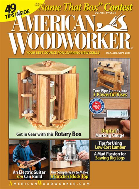 American woodworker magazine Image
