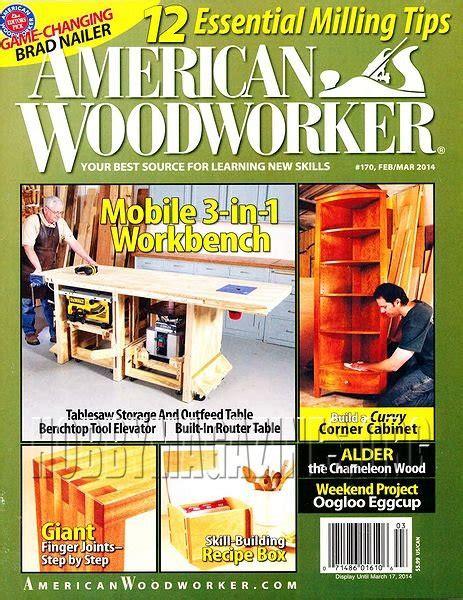American woodworker magazine back issues Image