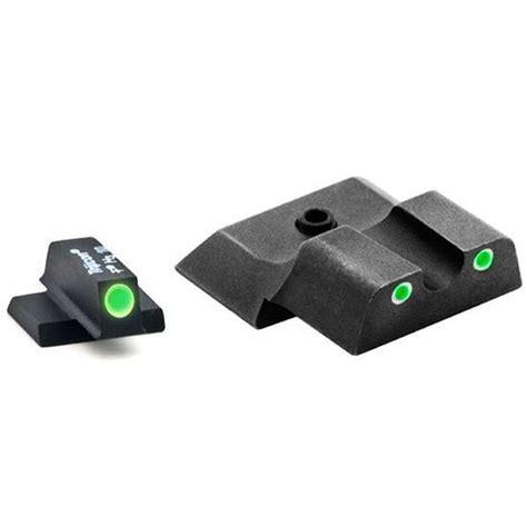 AmeriGlo Classic Tritium 3-Dot FN FNP9 Sight Set Green