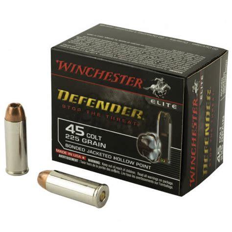 Ammo 45 Long Colt Winchester Elite Pdx1 Defender