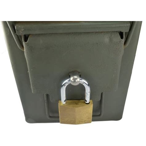 Ammo Box Can Lock Hardware
