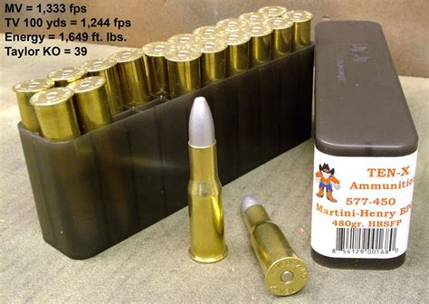 Ammo Box For 577 450