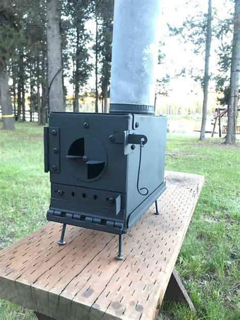 Ammo Box Stove Kit