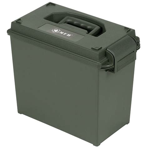 Ammo Box Tall Plastic
