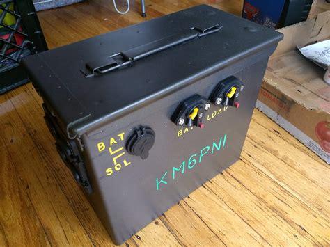 Ammo Can Car Battery Box