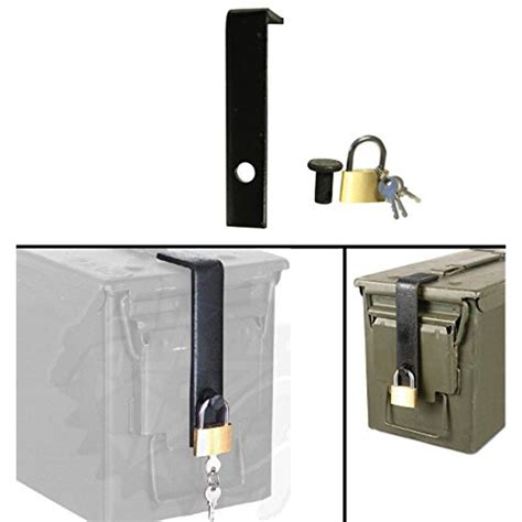 Ammo Can Safe Lock System