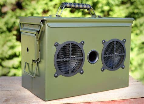 Ammo Can Speaker