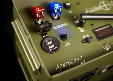 Ammo Can Speaker With Subwoofer