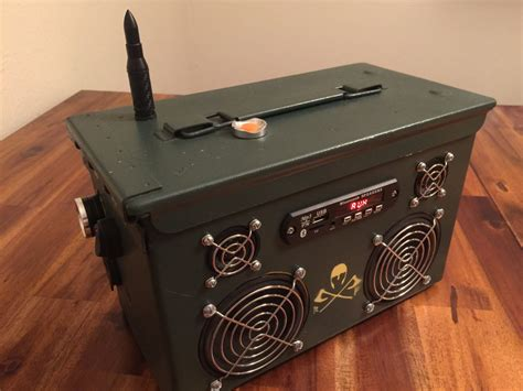 Ammo Can Stereo