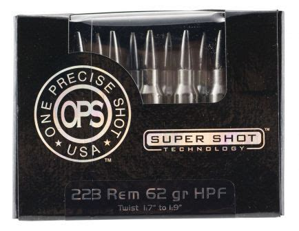 Ammo Incorporated Ops One Precise Shot 223 Remington Ammo
