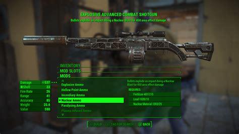 Ammo Nucleur Fusion Fallout 4 Mod