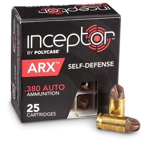 Ammo Quest PolyCase ARX Inceptor In 380 ACP And 9mm