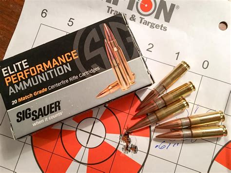 Ammo Test Sig Sauer 300 Blackout 125grain Supersonic