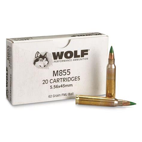 Ammo Wolf Gold 223 62 Grain