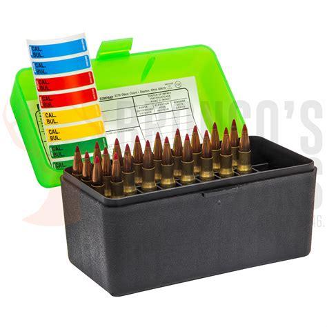 Ammunition Boxes For Rifles By MTM Case-Gard - Plastic
