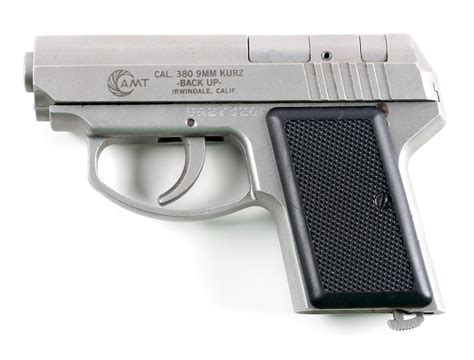Amt 380 9mm Backup And Amt Backup 380 9mm Kurz