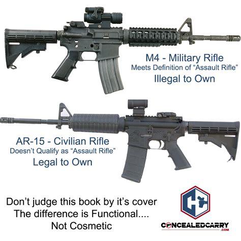 An Ar 15 Is Not An Assault Rifle