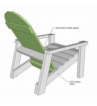 Ana White Chair Plans