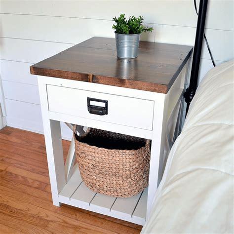 Ana white nightstand plans Image