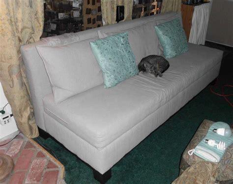 Ana white storage sofa Image