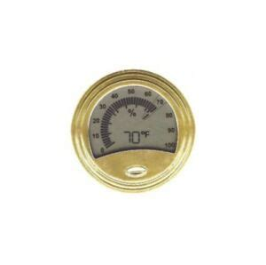 Analog Style Digital Hygrometer Thermometer For Cigar