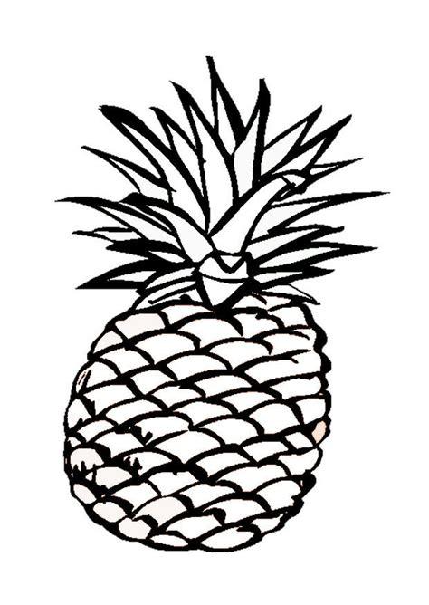 Ananas Malvorlage
