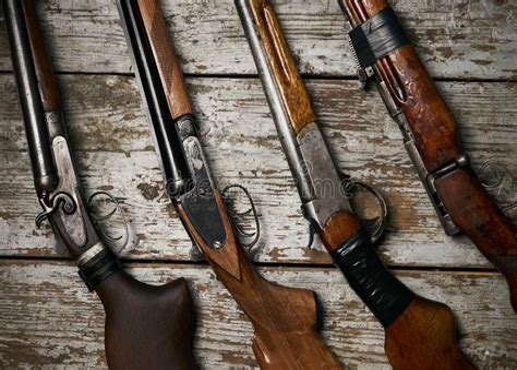 Ancient Hunting Rifle