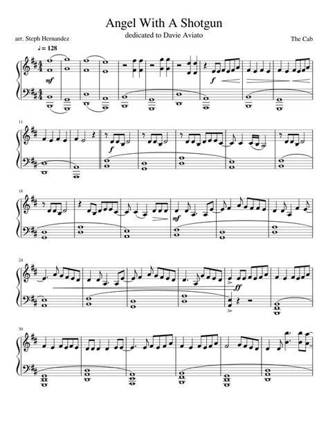 Angel With A Shotgun Piano