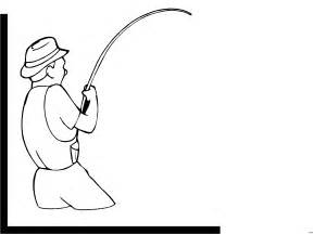 Angler Malvorlage