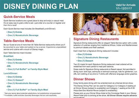 Animal Kingdom Disney Table Service Dining Plan