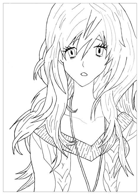 Anime Manga Malvorlagen