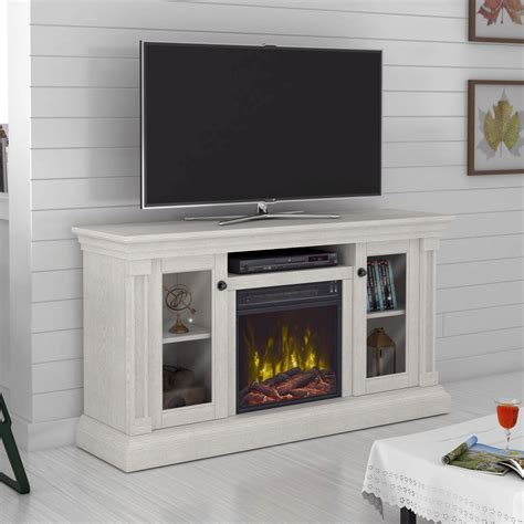 "Annmarie TV Stand for TVs up to 60"" with Electric Fireplace"