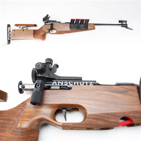 Anschutz Model 1827 Fortner Bolt Action Biathlon Rifle