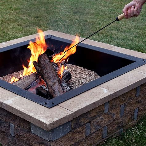 Anthonyville Steel Fire Pit Poker