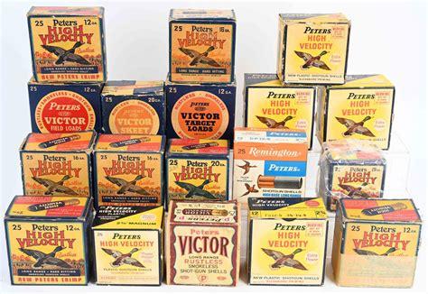 Antique Hunting Shotgun Shell Boxes
