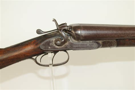 Antique Wells Fargo Double Barrel Shotgun