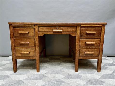 Antique wooden desk Image