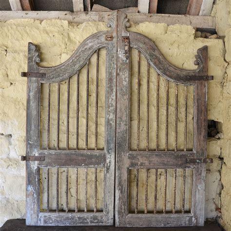 Antique Wooden Garden Gates Image