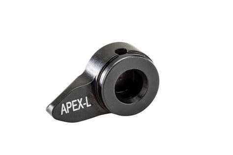 Apex Cz Scorpion Safety Left Low Profile Bla For Sale