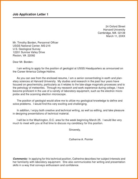 Free Cover Letter For Resume