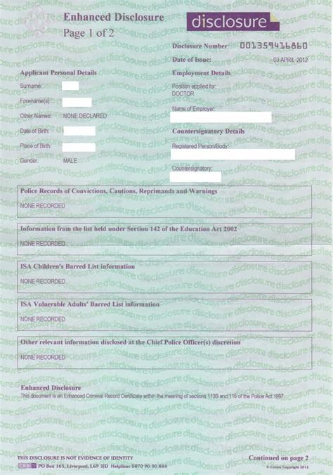 apply for an enhaed crb check