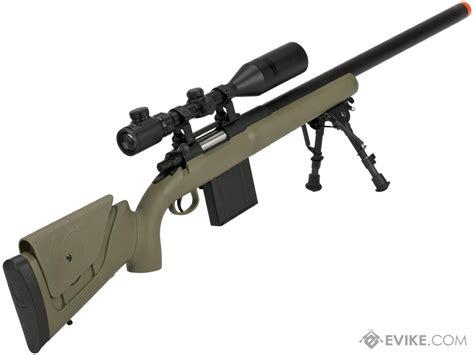 Aps M40a3 Bolt Action Airsoft Sniper Rifle Dark Earth