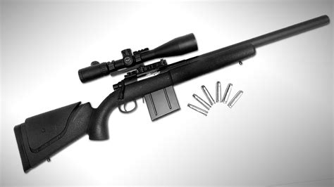 Aps Shell Ejecting Co2 Airsoft Sniper Rifle A3 Apm50